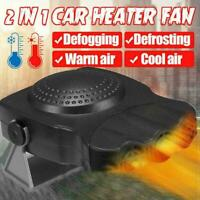 12-Volt Portable 150W Car Fan Heater Windshield Defroster Window A Demister W5I5