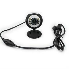 Microphone Laptop Computer 50.0M Video Camera 6 LED For PC Webcam With Mic USB