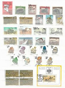 SOUTH WEST AFRICA - LOT OF STAMPS -   SHEET