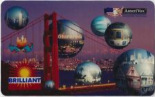 TK Telefonkarte/Phonecard USA Amerivox San Francisco Telecard Auflage 5000