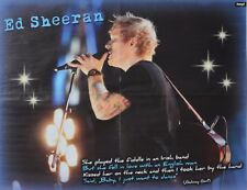 Ed Sheeran-POSTER a2 (XL - 42 x 55 cm) - skinning fan Raccolta Nuovo