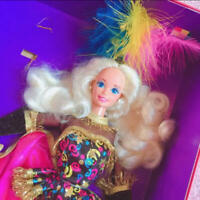 Barbie Doll Vintage Circus star colorful cute