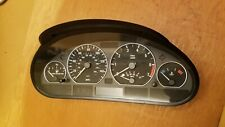 BMW E46 3-Series 4dr 330i 330xi Instrument Gauge Cluster MPH 2001-2005 Manual