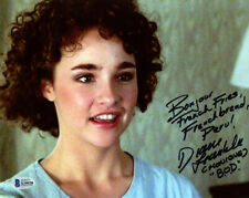 Diane Franklin Signed 8x10 Photo + Huge Inscription Better Off Dead Beckett Bas