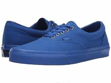 Vans Era Men's Size 12 Gold Mono Nautical Blue Brand New Skate Shoe