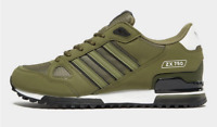 Adidas Originals ZX 750 Mens Trainers Khaki Green Cargo Limited Edition All Size