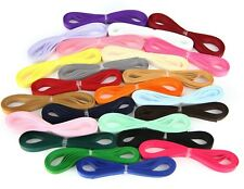 "Grosgrain Ribbon 3m Cut Lengths - 10mm (3/8"") width - Various Colours"