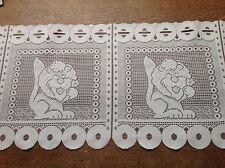 brise bise cantonnière rideaux à décor vendu au mètre B7