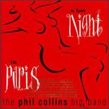 Hot Night In Paris - Phil Big Band Collins (1999, CD NIEUW) CD-R