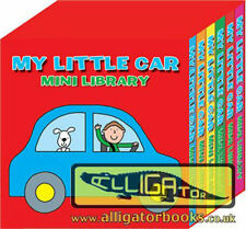 6 x My Little Car Mini Library Children Board Books Party Bag Filler Toy 1955LCM