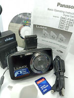 Panasonic LUMIX DMC-S5 16.1MP Digital Camera 16 MEGAPIXEL HD VIDEO OIS - Black