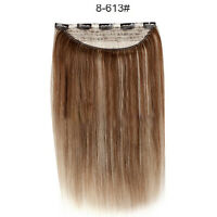 Superior thick clip in 100 remy human hair extensions 140g 180g 140g thick one piece clip in remy human hair extensions full head set 100 real pmusecretfo Image collections
