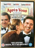 Apres Vous DVD 2005 French Romantic Comedy Romcom with Daniel Auteuil