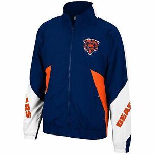 Mitchell & Ness Navy NFL Chicago Bears Mid Season Windbreaker 2.0 Jacket