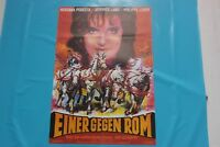 altes Kinoplakat A1 EINER GEGEN ROM  nach dem weltberühmten Roman der Gladiator