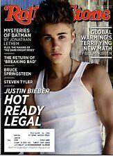 ROLLING STONE - AGO. 2012 - RISTAMPA - JUSTIN BIEBER - BREAKING BAD - BATMAN
