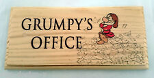 Grumpys Office-Placca / Firmare / Regalo-lavoro SCRIVANIA NANO DIVERTENTE BOSS preavviso 123