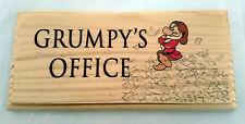 Grumpys Office - Plaque / Sign / Gift - Work Desk Dwarf Funny Boss Notice 123
