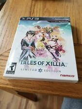 Tales of Xillia Limited Edition (Sony PlayStation 3, 2013) brand new sealed ps3
