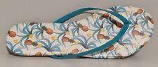 NEW!! Esprit Pineapple Multi Color Flip Flop Thong Sandals Size 8M US 38M EU