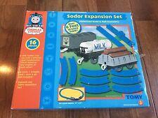 NIB Thomas & Friends Sodor Expansion Set Motorized 16pc TOMY Milk Tanker Log Car