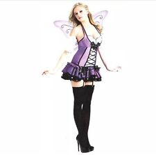 SPIRIT HALLOWEEN COSTUME VERY SEXY ADULT  Medium LILAC FAIRY PURPLE