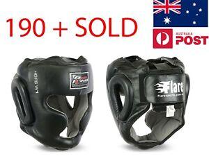 Flare Head Guard Helmet Boxing MMA Protection Gear Protector Training KickBoxing