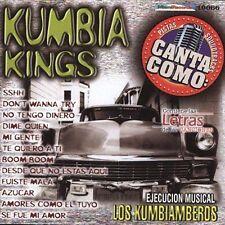 Los Kumbiamberos : Pistas: Canta Como Kumbia Kings CD