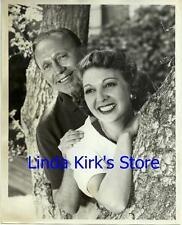 "Jack Benny & Wife Mary Livingstone Promotional Photograph ""Jack Benny Show"" 1951"