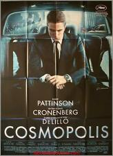 COSMOPOLIS Affiche Cinéma / Movie Poster CRONENBERG Robert Pattinson