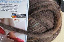 "1 Sk. SMC ""WASH+FILZ-IT""  Big Color Felting Wool #85 Brasil"