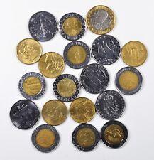 SAN MARINO Lotto di 19 monete miste da 100 200 500 1000 lire, anni vari. Ottime