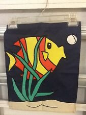 New listing Tropical Fish Beach / Ocean Handmade Garden Flag