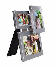 Stehend Aluminium Bilderrahmen für 3 Foto  Bildergalerie Galerie Fotorahmen