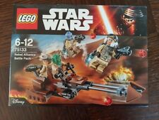 LEGO STARWARS 75133- PACK DE COMBAT DE L'ALLIANCE REBELLE (2016) NEUF