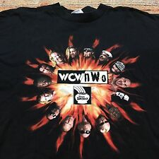 90s VTG NWO 4 Life T Shirt XL WCW Wrestling WWF HOLLYWOOD HOGAN New World Order
