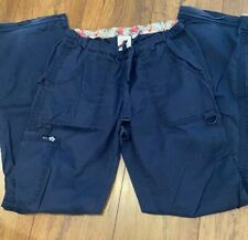 Koi By Kathy Peterson Women's Scrub Pants Size 2X-Large Blue. Comfy and Nice!