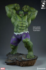 SIDESHOW EXCLUSIVE INCREDIBLE HULK AVENGERS ASSEMBLE STATUE Bust PREMIUM FORMAT