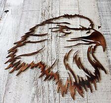 "Eagle Eye Metal Wall Art Decor 13"" T x 12"" W"