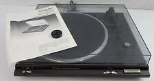 Technics - SL-BD20 Turn Table Record Plater w Manual & 45 Adaptor TESTED w ISSUE