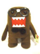 "Domo Kun Nerd 12"" Plush Stuffed Toy-Domo Kun Nerd with Glasses+Bowtie Plush-New"