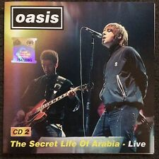 Oasis - The Secret Life Of Arabia - Live CD Rare - Noel & Liam Gallagher