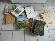 Gros lot de livre Sur Lyon , régionalisme ,  mœurs , Histoire , guerre , ...