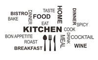 Kitchen Küche Spruch Wandtattoo Wandsticker Aufkleber Zitat Breakfast Sticker