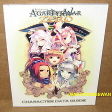 PS3 Record of Agarest War Zero Limited Edition Character Data Guide Artbook Only