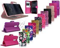 Per Nokia 6 Nuovo Originale Portafoglio IN Pelle Nero Custodia Cover Telefono+