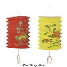 Chinese New Year Party - 2 Decorated Lantern Decorations - Free Postage in UK