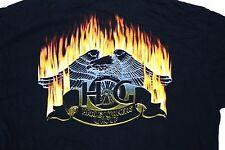 Harley Owners Group HOG Men's T-shirt Size Large Columbus Ohio  Black S/S