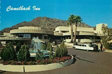Postcard Camelback Inn, Scottsdale, Arizona - 1950s Limosine