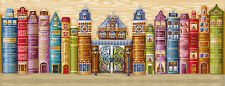 "Counted Cross Stitch Kit MAKE YOUR OWN HANDS K-30 - ""Kingdom of books"""